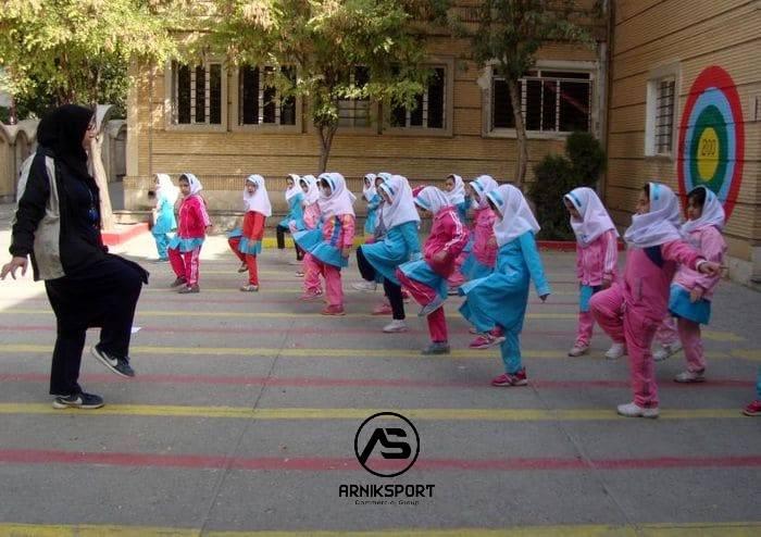 تولید لباس ورزشی مدارس