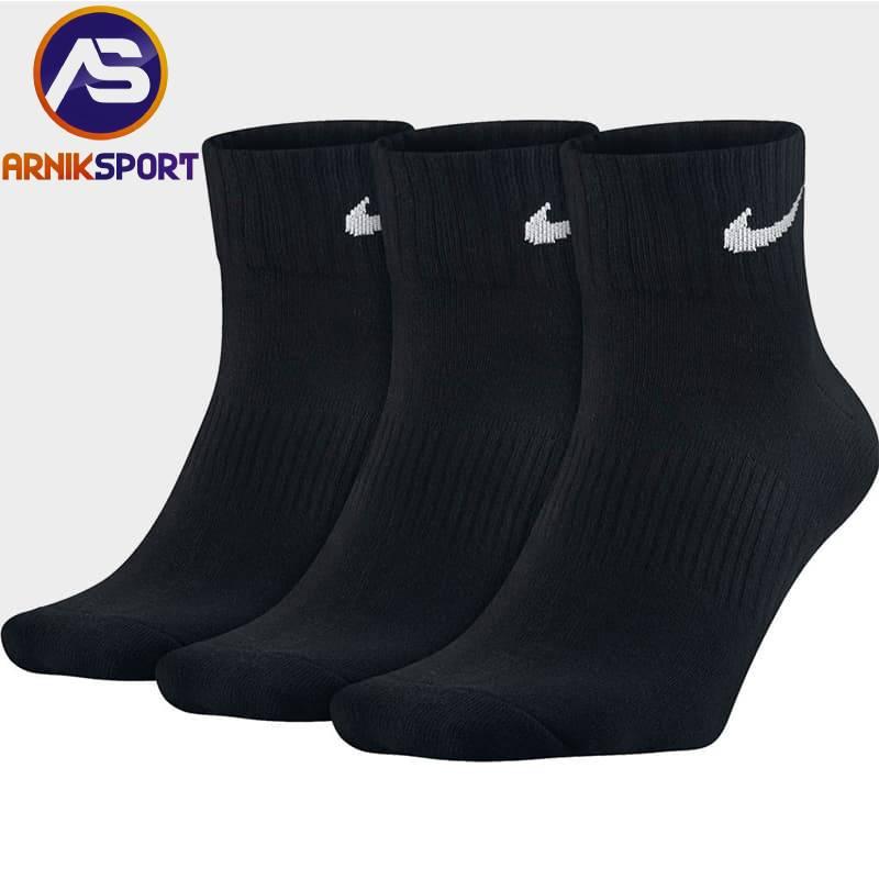 جوراب ورزشی ساق کوتاه مردانه
